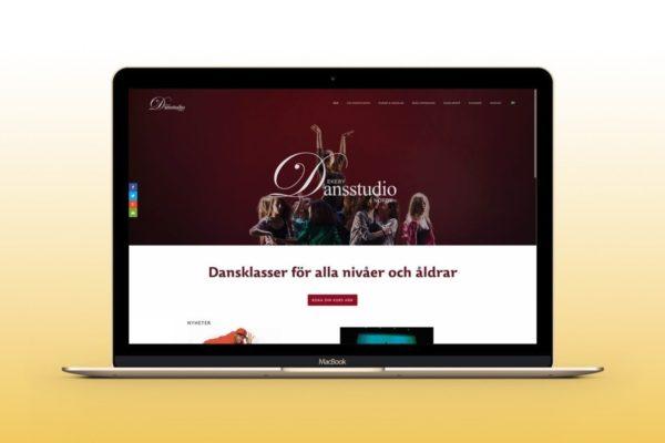 A new web site for Ekeby Dansstudio