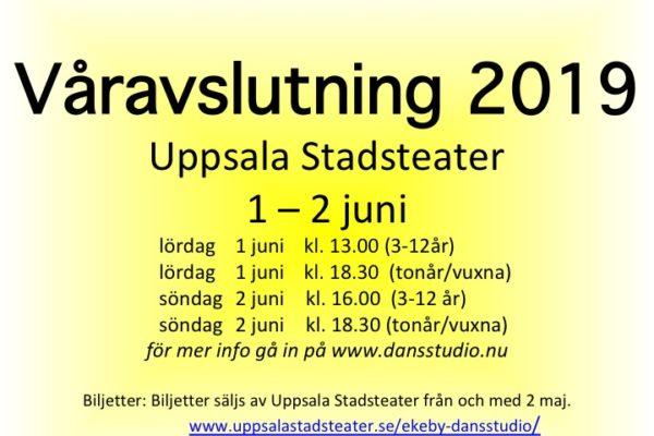 Våravslutning 1-2 juni